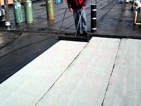 Gogolin Flat Roofing Torch Down Soprema Modified Youtube