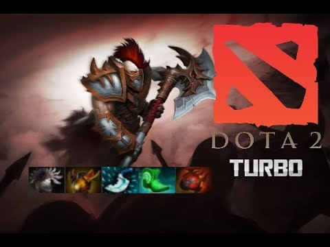 Centaur Warrunner Tank & half carry - Dota 2 7.07b Turbo || Kiro Love Dark