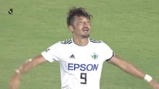 2018年7月16日(月)に行われた明治安田生命J2リーグ 第23節 岡山vs松...