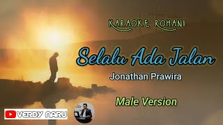 Selalu Ada Jalan - Jonathan Prawira || Karaoke - Male Version (Piano Cover)