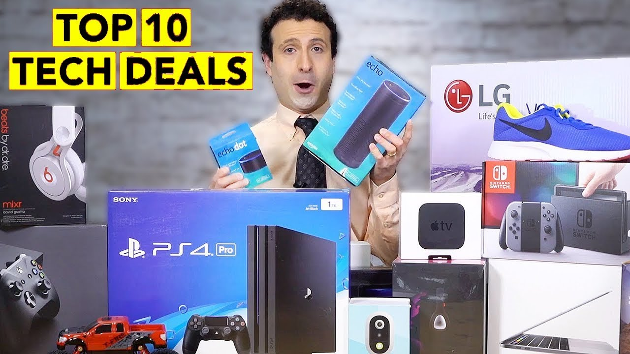 9caf11f3ca797 Top 10 Black Friday 2018 Tech Deals - YouTube