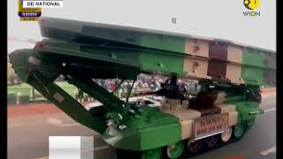 Indian Army's main battle tank Bhishma T-90 on display