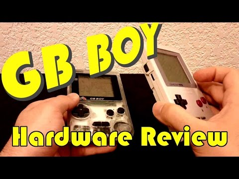 GB Boy! The Game Boy Boy! - GamingGems hardware review
