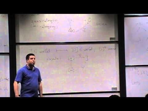 Chris Kapulkin,  Type theory and locally cartesian closed quasicategories