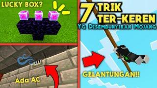 Trik Bergelantungan di Pagar!! 5+2 HAL TER-RAHASIA di MCPE *harus tau* [] Minecraft PE 1.13