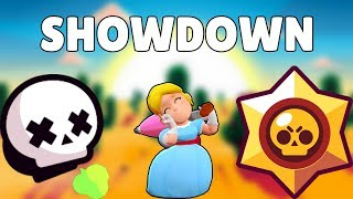 JUGANDO SHOWDOWN CON PIPER | BRAWL STARS