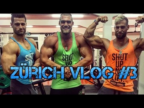 Zürich VLOG #3 | Oberkörpertraining, Schokoriegel Test, Burger Time!