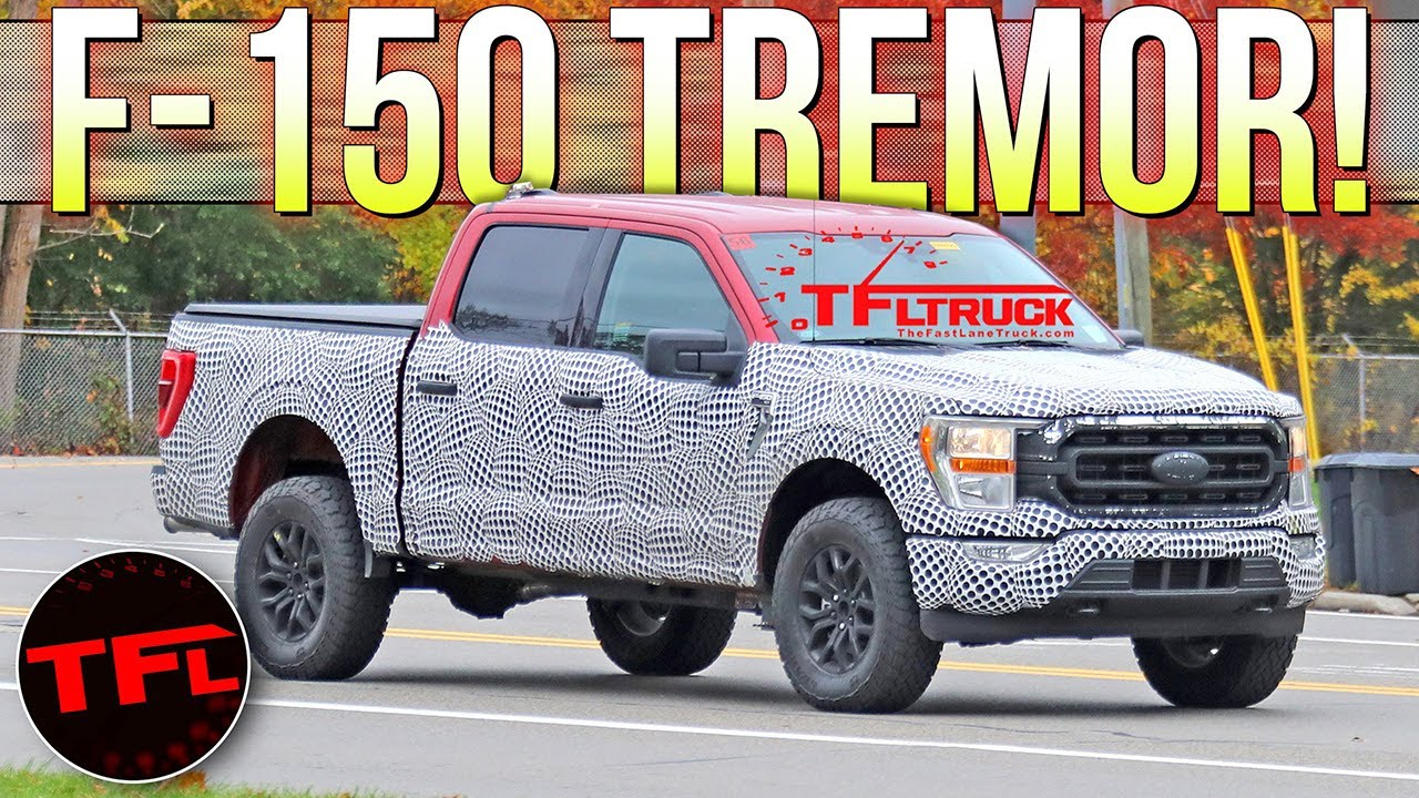 SPIED! Move Over FX4 — The Ford F-150 TREMOR Is The New Off-Road Sheriff In Town!