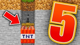 5 BUGÓW w MINECRAFT 1.14!! - TNT PRZENIKA PRZEZ BLOKI!!