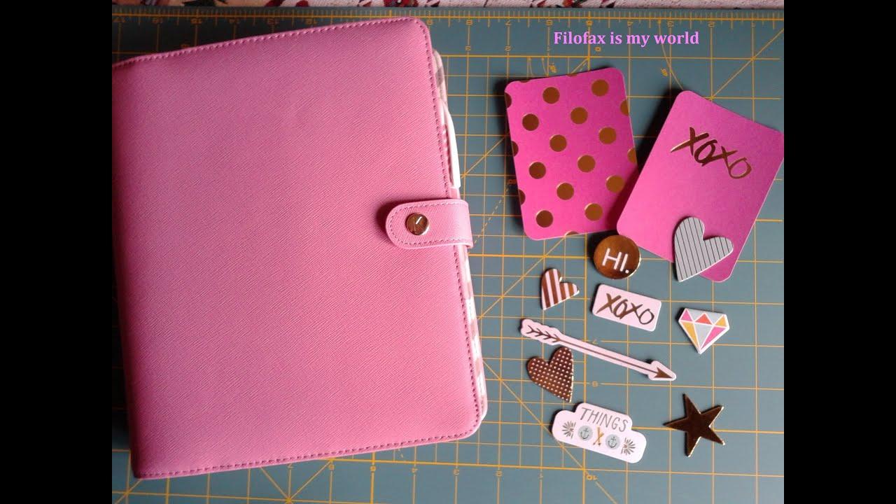 Kikki k Pink Planner - set up - YouTube
