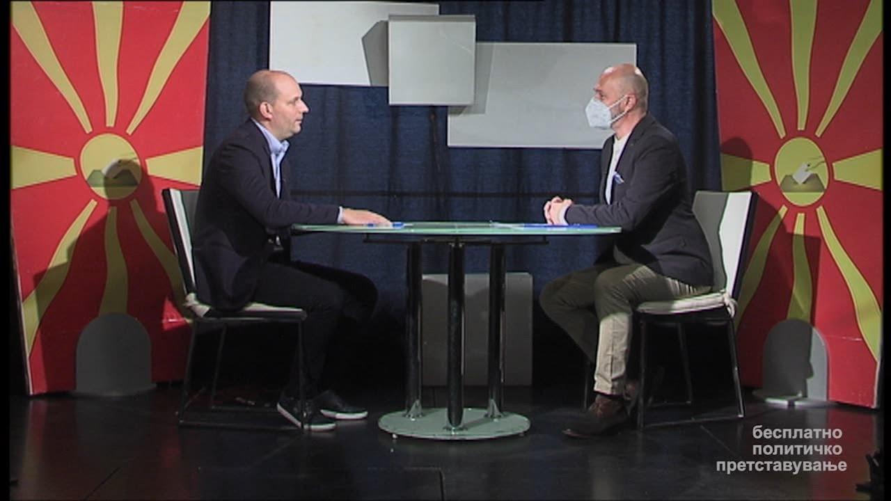 Сашо Донев - ВМРО-ДПМНЕ  и Коалиција за обнова на Македонија