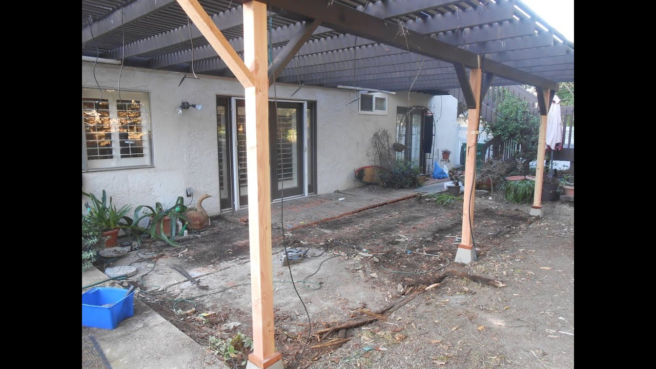 Patio Cover Repair In San Diego