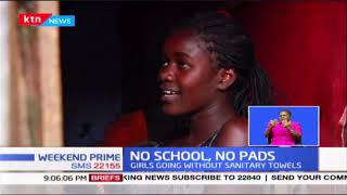 No schools, no Pads: Girls going without sanitary towels, they only get them during school