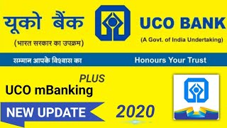UCO mBanking Plus New Update 2020 | UCO mBanking Plus New Features