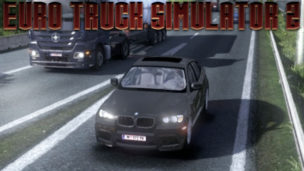 Euro Truck Simulator 2 Bmw X6 M Mod Youtube