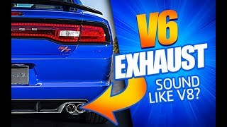 V6 Charger/Challenger Sound Like V8 Hemi?