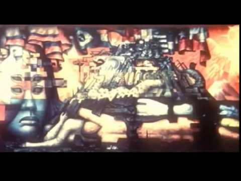 Mural Presencia de America Latina (Chile 1965)