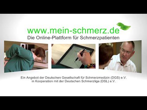 mein-Schmerz.de jetzt online / Schmerzdokumentation - einfach gemacht: Das neue Online-Tool für Schmerzpatienten
