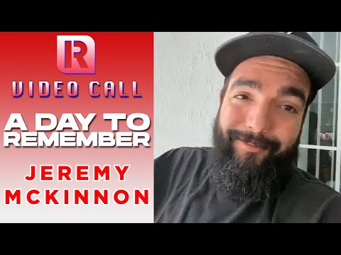 A Day To Remember's Jeremy McKinnon On 'Mindreader' & New Album 'You're Welcome' - Video Call With 'Rocksound'