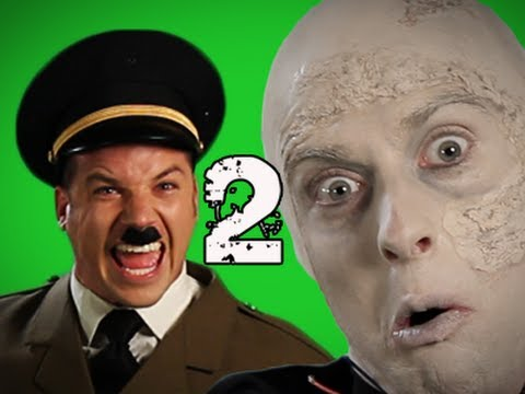 Epic Rap Battles of History Behind the Scenes - Vader vs Hitler 2