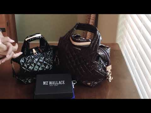 Perfect Lightweight Bags: MZ Wallace Small Sutton Vs Micro Sutton