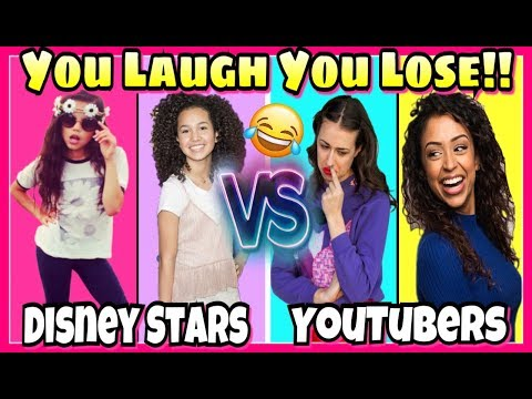Thumbnail: Try Not To Laugh Challenge 2017 Disney Stars VS Youtubers Musical.ly Battle