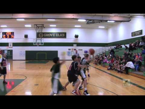 Chicago Sports Videographer - Elk Grove Elks vs Holmes Hawks Boys Basketball