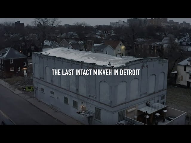Detroitisit: Rumors were true that The Schvitz had the last intact mikveh in Detroit. We were there