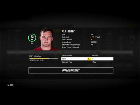 SIGNING, TRADING, DOMINATING! - NHL 18 Franchise Mode Live Stream