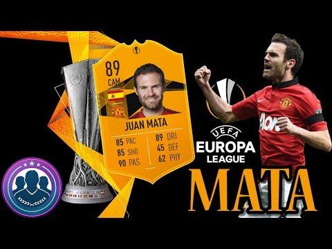 DME SBC [JUAN MATA] UEFA EUROPA LEAGUE MAIS BARATO FIFA 19 thumbnail