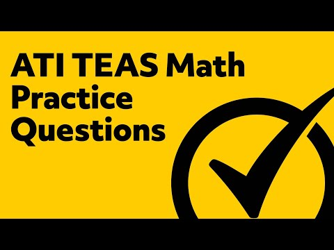 photo about Printable Teas Practice Test known as Free of charge TEAS Math Teach Consider - YouTube