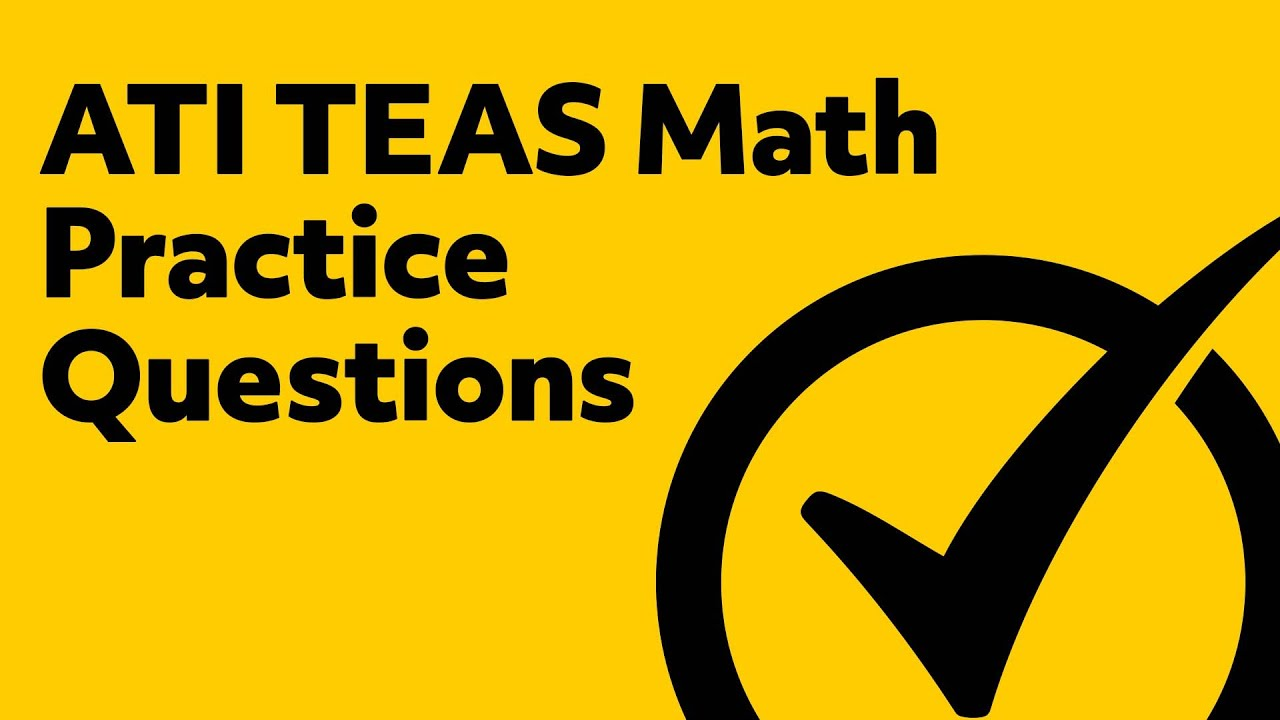 Free TEAS Math Practice Test