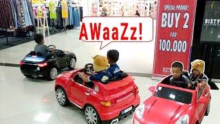 Download 2 Balita Lucu Naik Mobil Mobilan di Grand Mall | Mobil Mainan Anak | Cars for Kids