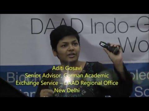 Research in Germany - by Aditi Gosavi, DAAD Regional Office New Delhi at Indo-GMP 2015