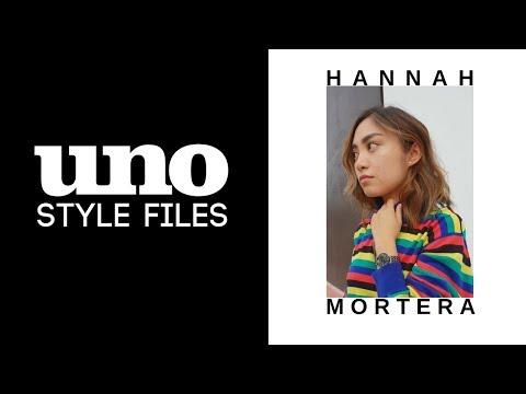 Style Files X Hannah Mortera