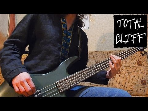 #18 Metallica - To Live Is To Die bass cover + solo (free bass tab on AndriyVasylenko.com)