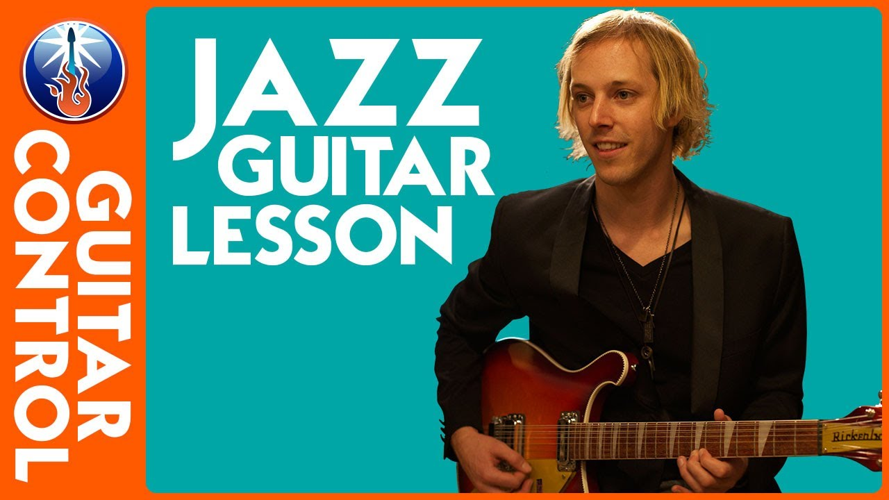 Jazz Guitar Lesson - Jazz Chord Melody in the Style of ...