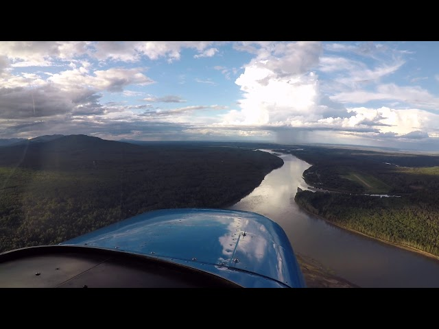 Landing Fort Liard, NT (CYJF)
