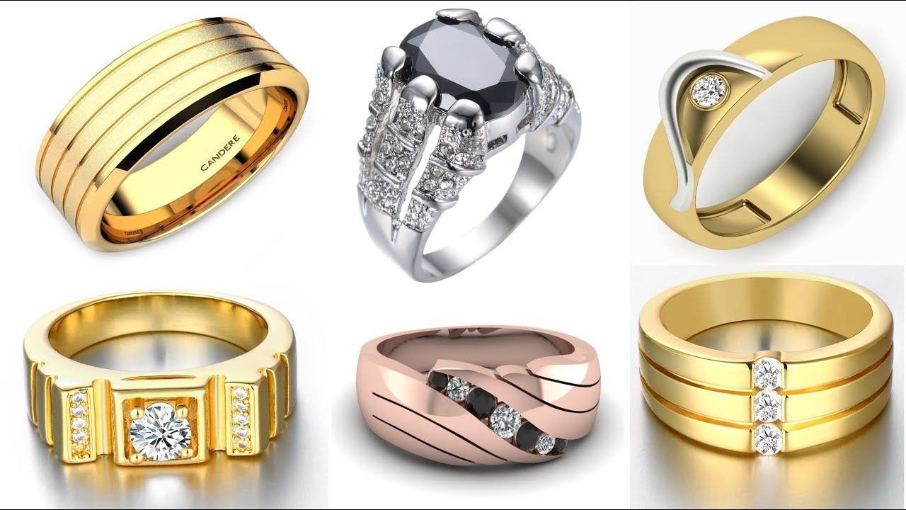 Ring Design for Men | The Best Design Of Gold Rings For Male - YouTube