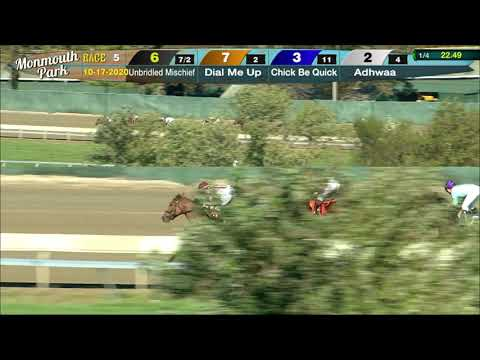 video thumbnail for MONMOUTH PARK 10-17-20 RACE 5