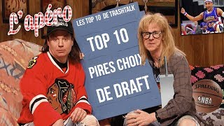 Top 10 des pires choix de Draft All-Time