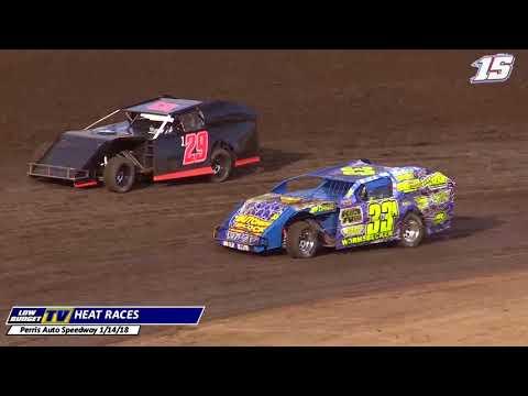 Heat Races: Perris Auto Speedway 1-14-18