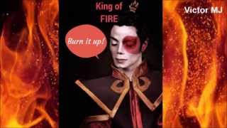Michael Jackson - Burn it up! (New video 2015!)