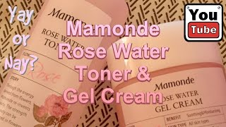 Mamonde Rose Water Toner &…