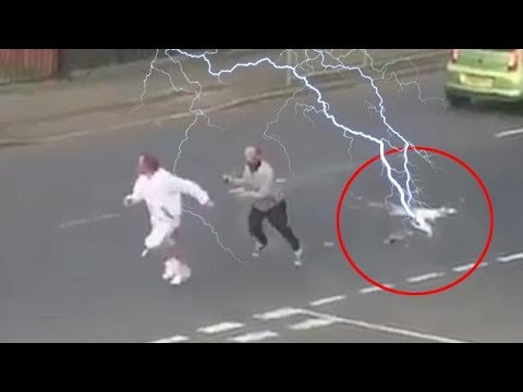 TOP 10 SHOCKING LIGHTNING STRIKES CAUGHT ON CAMERA