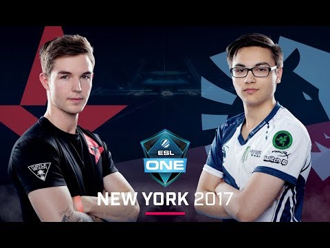 CS:GO - Astralis vs. Team Liquid [Inferno] Map 1 - Group B Decider - ESL One New York 2017