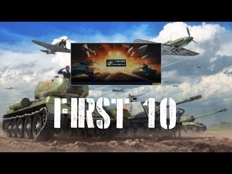 War Thunder First 10 - T-64A (1971)