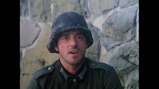 Железный крест 2: Штайнер (1979). Бой немецких солдат с советским танком