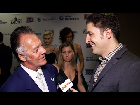 Tony Sirico at the 54th Annual USO Armed Forces Gala with Arthur Kade