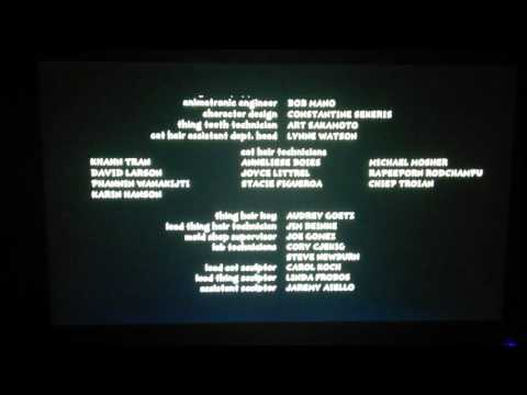 The Cat in The Hat Movie Credits thumbnail